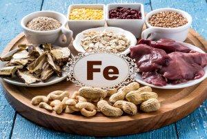 Продукты,обогащающие организм железом