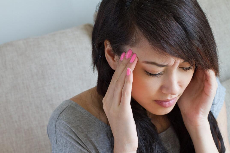 Боли в глазницах и головокружение