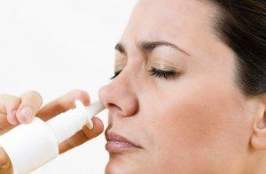 Применение антибактериальных аэрозолей для носа
