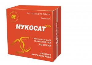 Лечение хрящевой ткани при помощи Мукосата