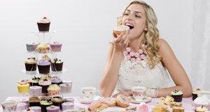 Центры удовольствия стимулируются глюкозой