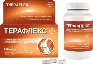 Активные вещества таблеток для суставов Терафлекс