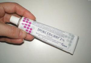 Правильное применение мази Троксевазин