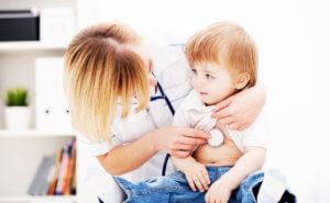 Температура и потливость у детей при воспалении легких