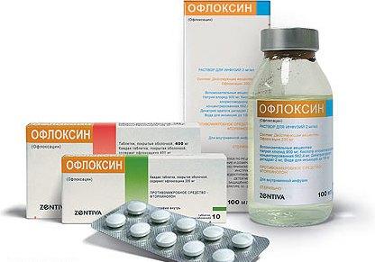 Инструкция Офлоксина