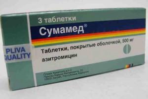 Избавить организм от вредных бактерий помогут таблетки сумамед