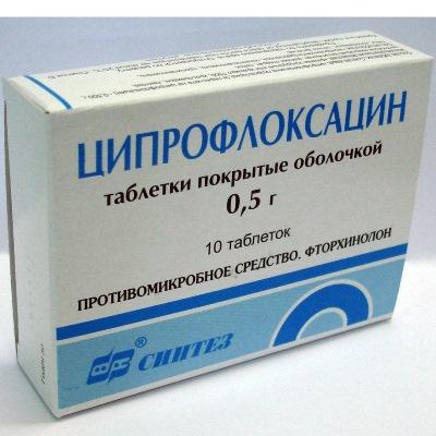 Как принимать таблетки Ципрофлоксацин