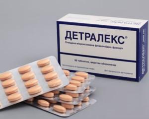 препарат Детралекс принимается не менее двух месяцев