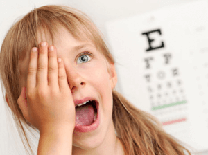 Проверяем зрение у детей