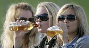 Употребление пива переходит в стойкую привычку