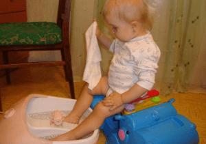 Ножная ванночка ребенку