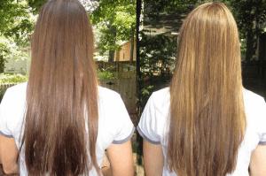 Осветляем волосы народными средствами