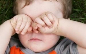 Грязные руки - причина конъюктивита