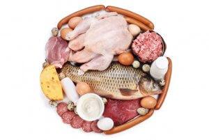 Продукты легкоусвояемых белков