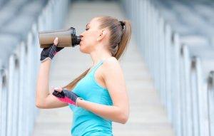 Применение легкоусвояемых белков во время тренировок