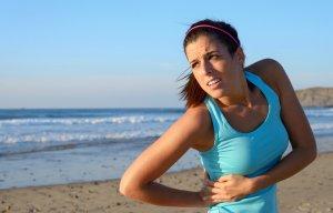 Колющие и режущие боли в правом подреберье
