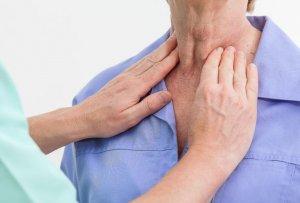 Степень болезни щитовидной железы при ощупывании