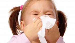 Обильные выделения из носа у детей